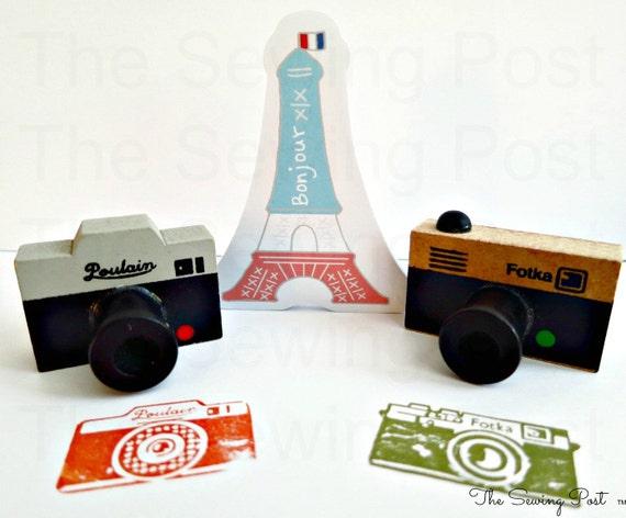 Retro Camera Stamp : Set of 2