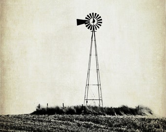 The Wheel in the Sky Keeps on Turning - 8x10 Fine Art Photograph - Landscape