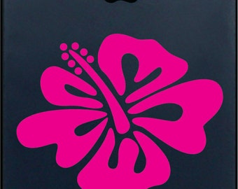 Hawaiian Flower Iphone Vinyl Decal