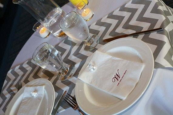 grey table Runner For  Table   Table Weddings runners  Chevron Runners Table Grey Runner
