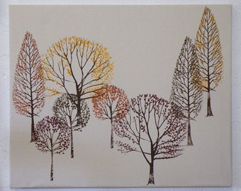 Autumn Trees Canvas