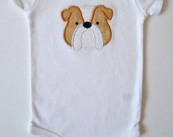 English Bulldog Bodysuit