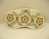 Eyemask Blue and Brown