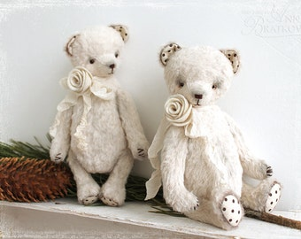 PATTERN Download to create teddy like Classic Bears Berta or Marta 7 inch