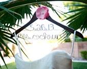 Wedding Hanger, Personalized Bride Hanger, Hanger