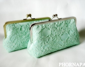 Give Me Some Mint Clutch Made to Order