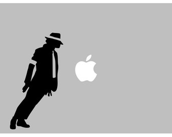 Michael Jackson ICON decal: For Laptop, Car etc..