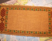 Vintage Handmade Latvian Embroidery Mat