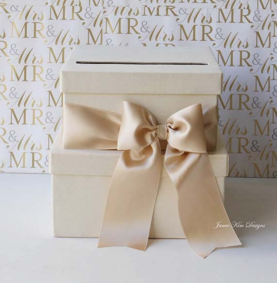 Wedding Card Box Money Box Gift Card Holder - Custom Made to Order