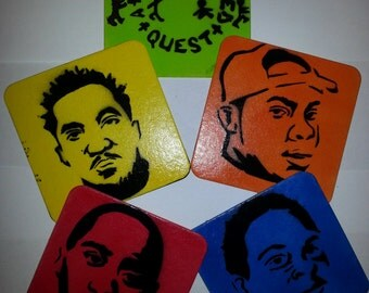 A Tribe Called Quest Coaster Set w/ Optional Print