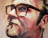 Custom Portrait Original Oil Painting