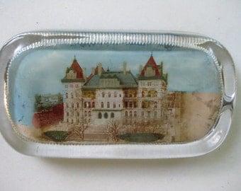 Paperweight ~ Vintage A.C. Bosselman & Co.- a capital Capitol souvenir