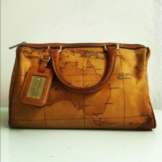 Vintage Alviero Martini Handbag Prima Classe Europe