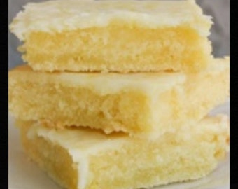 Lemon Brownies Recipe~~~Instant Download