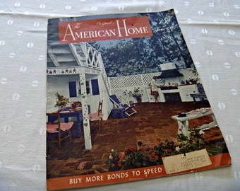 The American Home Magazine June 1945