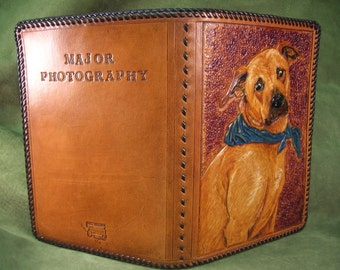 Custom Leather Hand Tooled Padfolios, Notebook PC Cases, Nook, Kindal, ereader Cases of any kind