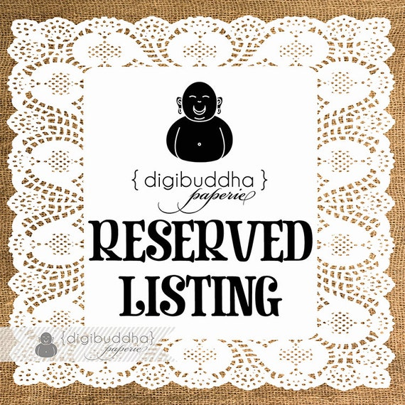 """Reserved for agspark: 4x6"""" Invite printing (50)"""