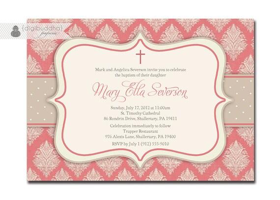 Dedication Invitations was amazing invitations layout