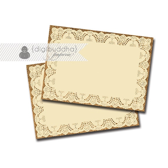 buffet labels instant download lace burlap chic rustic candy