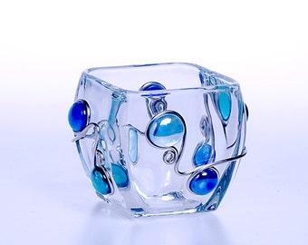 "Glass Candy/Nut Bowl (4.5 "")"