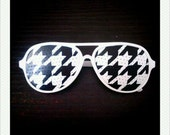 Custom Order For Blake - Hand Drawn Shades (Houndstooth)