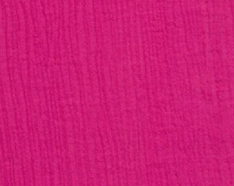 "54"" Fuschia Cotton Gauze Fabric-15 Yards Wholesale by the bolt"