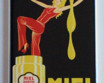Miel Alphandery Fridge Magnet