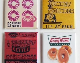 Donuts Fridge Magnet Set
