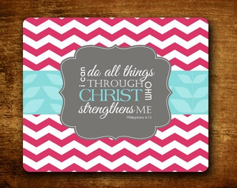 Mouse Pad - I can Do All Things Phil. 4:13