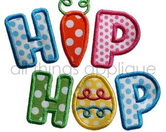 Easter Applique Design - Hip Hop Applique Design - Easter Applique Design - INSTANT DOWNLOAD