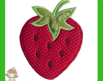 Strawberry Applique design