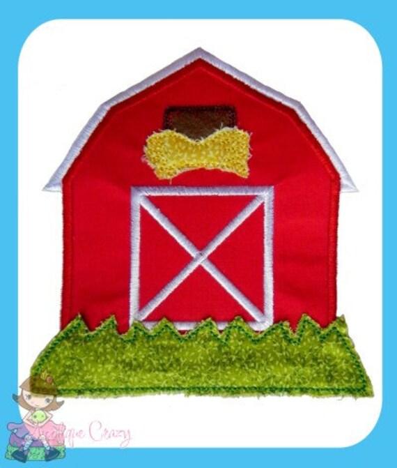 Barn Applique design