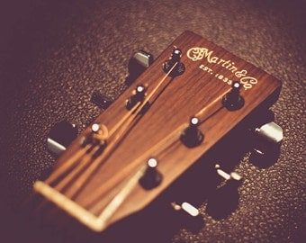 Martin & Co. Guitar Headstock Photo
