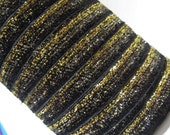 "Evening Ombre Glitter Ribbon. 3/8"" Width. 3 Yards. GR21"