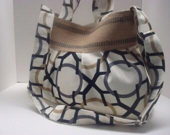 Coton pleated purse