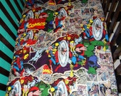 AVENGERS fitted crib sheet