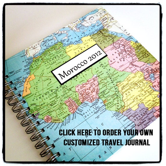 Traveling To The United States: USA Travel Journal, United States From VintagePageDesigns