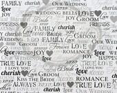 WEDDING PHOTO BOOTH 5ft x 7ft Vinyl Photography Backdrop / Bride Groom