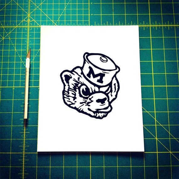Michigan 8x10 Paper Cutting