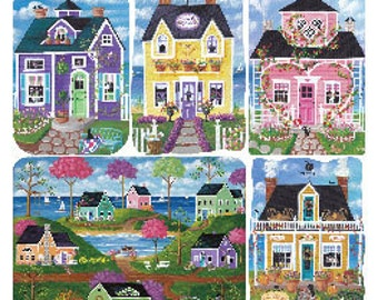 Cottages Stickers from Violette Stickers