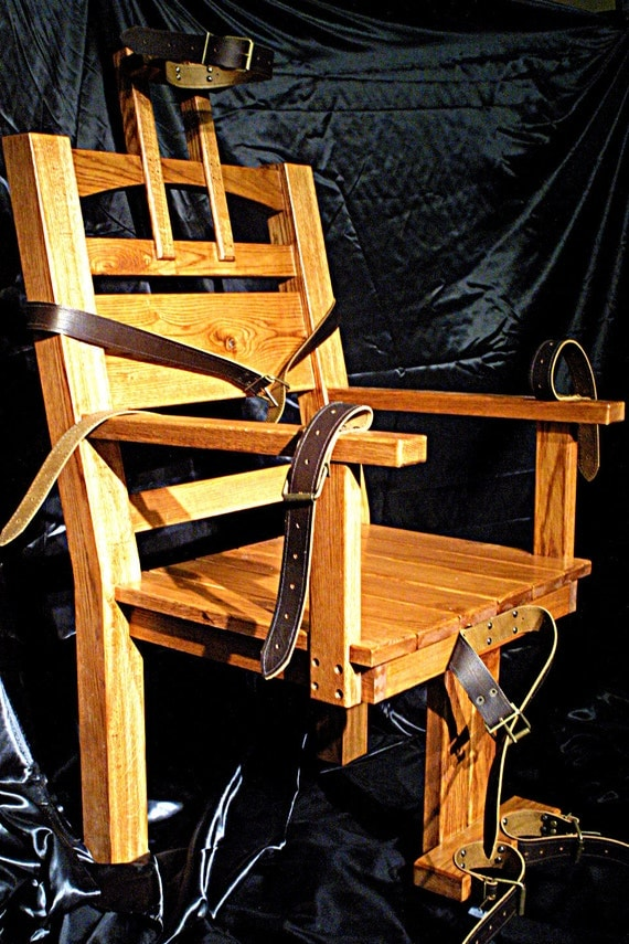 Old Sparky Electric Chair Replica Gothic By Isaachirstfurniture