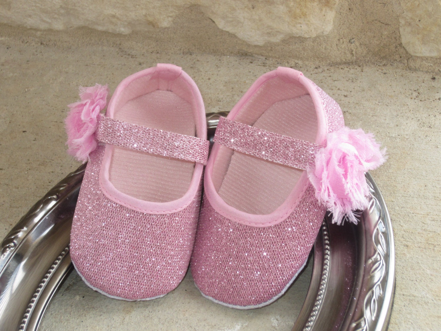Items Similar Baby Girl Crib Shoes Mary