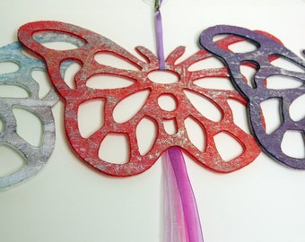 Felt Butterfly Hanging Decoration