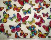 Little Butterfly Fat Quarter Fabric