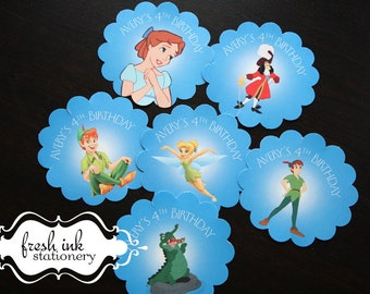 Peter Pan Stickers