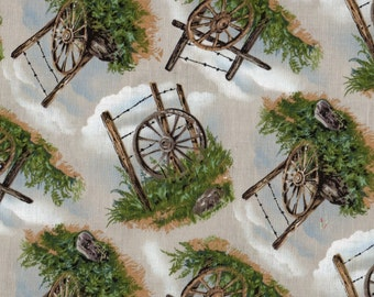 Prairie Fabric, Southwestern Fabric, Pheasant Drive by Blank Quilting, Western Fabric,  1 yard fabric, 01231