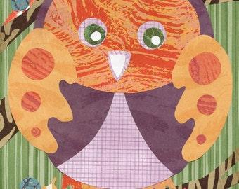 Owl Woodland Creature Printable PDF