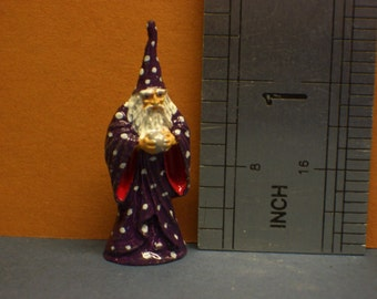 1:12th Wizard Ornament/Figurine Hand-painted for the Dolls House