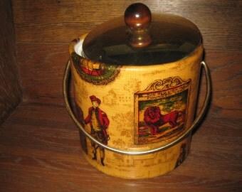 Vintage  Retro Mid Century Ice Bucket