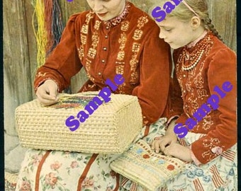 Instant Digital Download-Hungarian Traditional Costumes from Tape